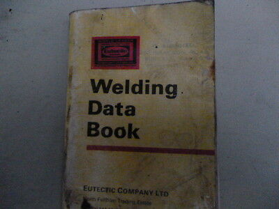 Welding Data Book By Eutectic