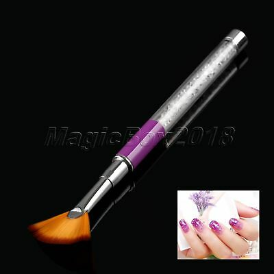 152mm Nail Art Brush Pen Fan-shaped Gradient Dizzy Dye Shading Dotting Manicure