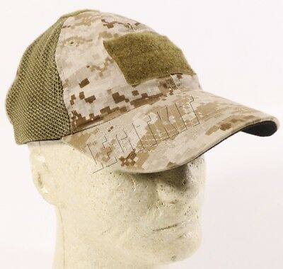 215 GEAR Blended Operators Hat Mesh Adjustable Size Desert Digital AOR1 215BOHD