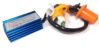 Performance Ignition Coil And 5 Pin Racing Cdi Honda Xr50R Xr 50 R Crf50 Crf 50