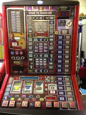 DEAL OR NO DEAL SPANK THE BANKER £100 jackpot NOTE ACCEPTOR FITTED can deliver