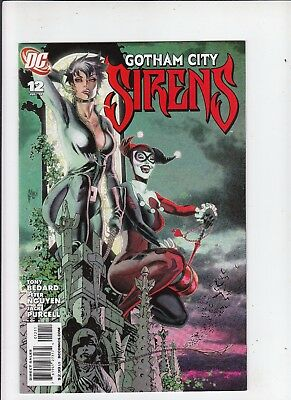 Gotham City Sirens #12 NM  Catwoman Harley Quinn Poison Ivy