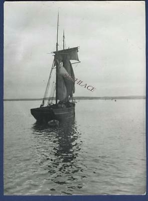 Sailing Ship Penzance Schooner Mary James Padstow Lost Lands End Sail