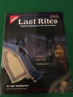 Last Rites For Call Of Cthulhu RPG