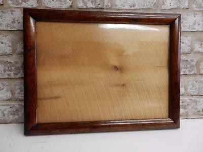 """really old picture frame EARLY fits a 15 inch X  11"""" painting"""
