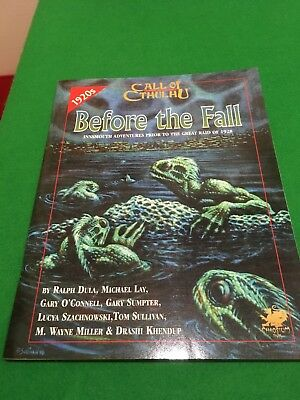 Before The Fall For Call Of Cthulhu RPG