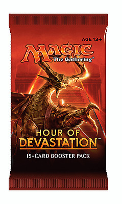Hour Of Devastation Booster Pack x1 Magic, MTG, HOU, English, Sealed, New