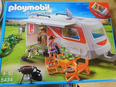 playmobil set 5434 - caravan
