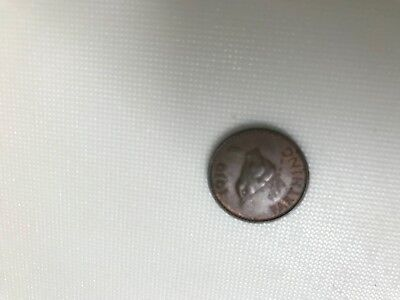 1939 farthing coin
