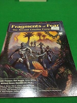 Fragments Of Fear For Call Of Cthulhu RPG