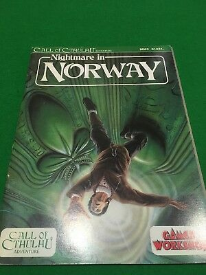 Nightmare In Norway For Call Of Cthulhu RPG