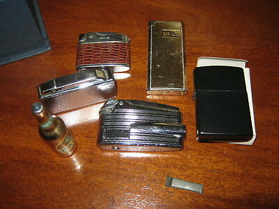 Job lot of lighters.Ronson,Colibri etc.