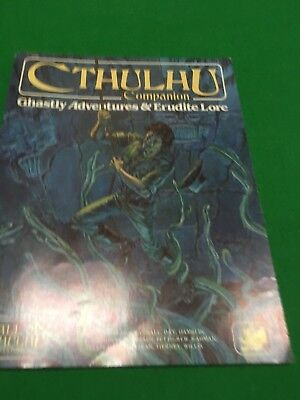 Cthulhu Companion For Call Of Cthulhu RPG