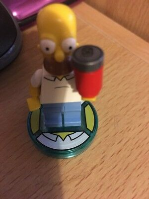 Lego Dimensions Homer Disc And Lego