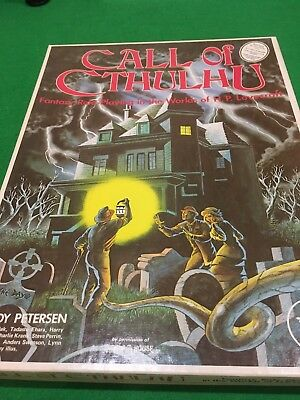 Classic Call Of Cthulhu Box Set RPG
