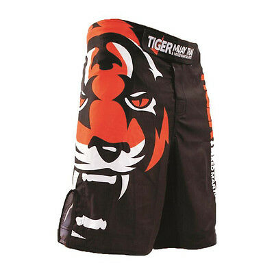 Tiger Muay Thai MMA Shorts Boxing Training Breathable Red Fitness Fight Shorts