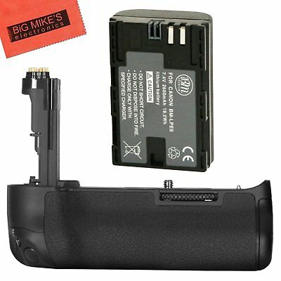 BG-E20 Replacement Battery Grip for Canon EOS 5D Mark IV + 1 LP-E6N Battery