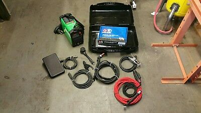POWERARC 140ST with ck9v torch, 25 foot superflex hose and ssc pedal