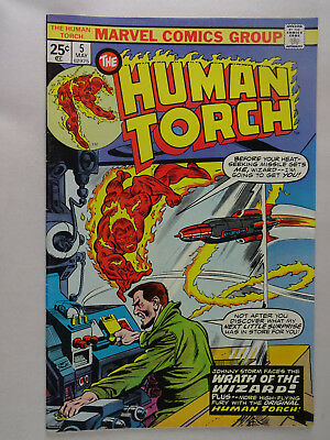 Human Torch   Lot of 2    Jack Kirby   Larry Lieber