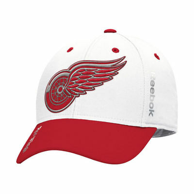 Detroit Red Wings Reebok NHL Centennial Classic Coaches Flex Cap Hat Lid  Men s fc86bb78f