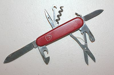 VICTORINOX Swiss Army Knife CLIMBER Red 91mm, bent can opener tip (UDV1525)