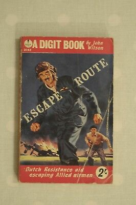 John Wilson Escape Route Allied Airmen WWII Digit Pbk 1950s?