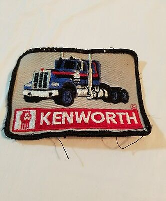 Vintage Kenworth Trucking Patch