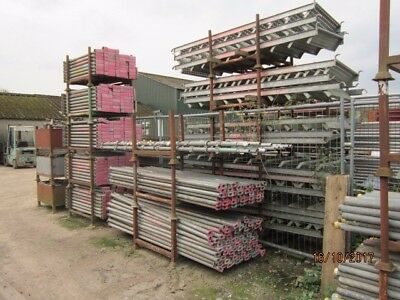 Large Amount Of Scaffolding Cuplok,Tube,Fittings,Boards, and Auxiliary Items.