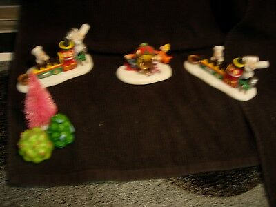 Dept 56 Grinch Village Lot Of Accessories *see Condition