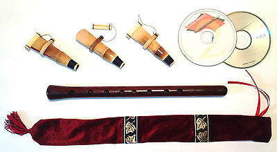 Duduk Professional Armenian 3 reeds CD case Flute Mey Instruction NEW