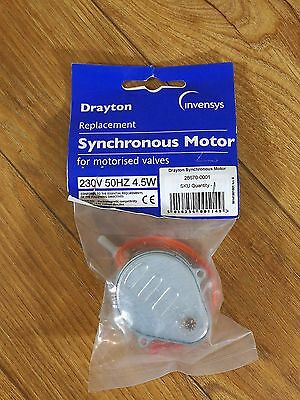 Drayton Replacement Synchronous Motor for Motorised Valves Unopened