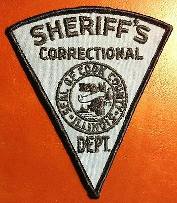 Sheriff's Correctional Department Cook County Illinois