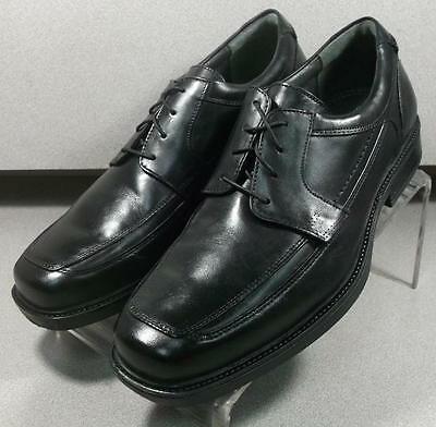 203605 MS50 Men's Shoes Size 9 M Black Leather Lace Up Johnston & Murphy