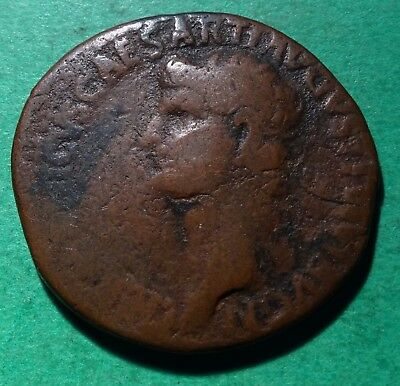 *Tater* Roman Imperial ae AS Coin of Germanicus  SC