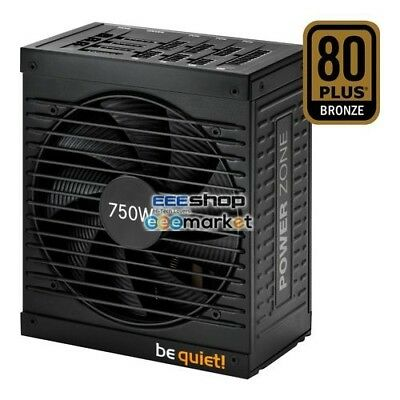 Be quiet POWER ZONE 750W, PC-Netzteil BN211