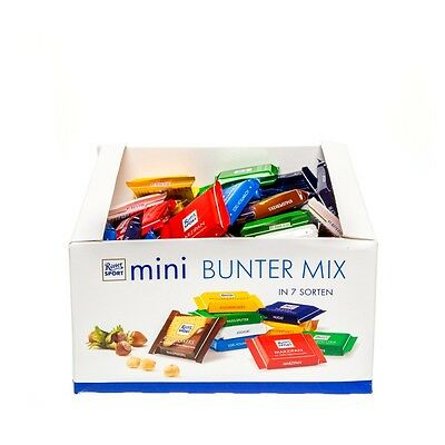 Ritter Sport minis (Pack of 84)  1400g *EXPIRATION DATE AUGUST 2017*