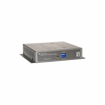 LevelOne HDMI over IP PoE Transmitter RJ-45 - RS-232 - CAT5e/6/7 - 800 HVE-6501T