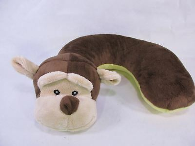 Animal Planet Kid's Neck Support Pillow, Monkey, Brown, Yellow *See Description*