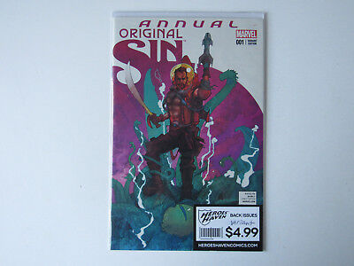 Original Sin Annual #1 Variant Cover Dealer Incentive Comic Book Marvel COOL Art