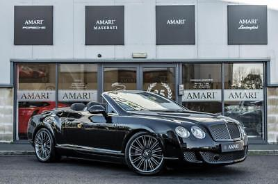 2011 (11) Bentley Continental 6.0 Gtc Speed 2Dr Automatic