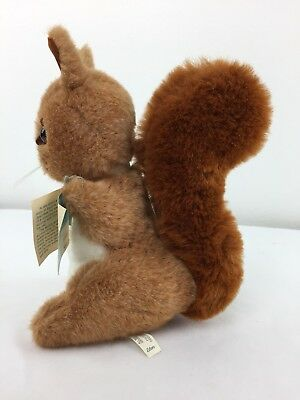Vintage NEW Squirrel Nutkin By Beatrix Potter By Eden Plush