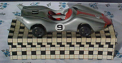 ULTRA RARE 1960's SPEED RACER'S BROTHER RACER X CAR #9 SOLID MIB OLD STOCK!