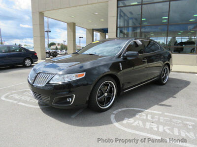 2011 Lincoln MKS 4dr Sedan 3.7L FWD 4dr Sedan 3.7L FWD Automatic Gasoline 3.7L V6 Cyl BLACK