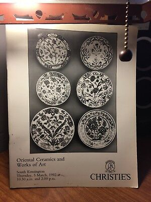Rare Christie's Oriental Ceramics And Works Of Art March 1992