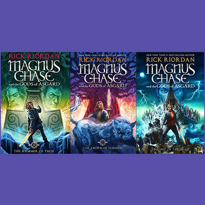 Magnus Chase and the Gods of Asgard Hardcover Set   by Rick Riordan