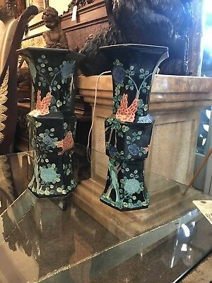 A Pair of Japanese Porcelain Vases