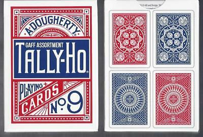 Tally Ho gaff cards Fan/Circle assortment FREE USA SHIPPING