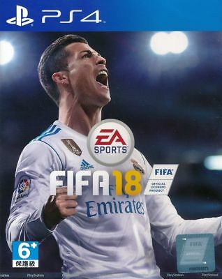 FIFA 18 PS4 Game Brand New Sealed English / Chinese subtitle