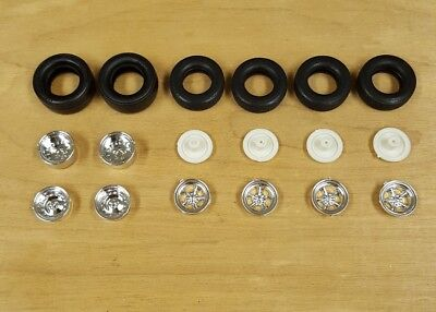Mpc 1/25 1967 Dodge Charger Wheels And Tires