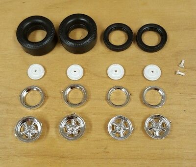 Revell 1/25 MISS DEAL STUDEBAKER FUNNY CAR WHEELS AND TIRES